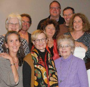 2016 Board of Directors: L to R: Elise Lark, Gai Galitzine, William Gooch, Lynda Carré, Laurie Schwartz, Hayes Clement. Barbara Sarah, Stephen Wilder, Karen Porcelli, , (not shown: Ed Hill )
